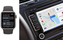 Google Maps retorna ao Apple Watch e é otimizado no CarPlay