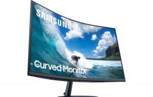 Samsung tem monitor gamer curvo