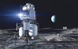 Empresa de Jeff Bezos entrega protótipo de módulo lunar para a Nasa