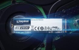 Kingston lança novos SSDs de até 2 TB para o público gamer no Brasil