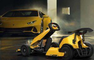 Kart elétrico tem as mãos da Lamborghini e da Xiaomi