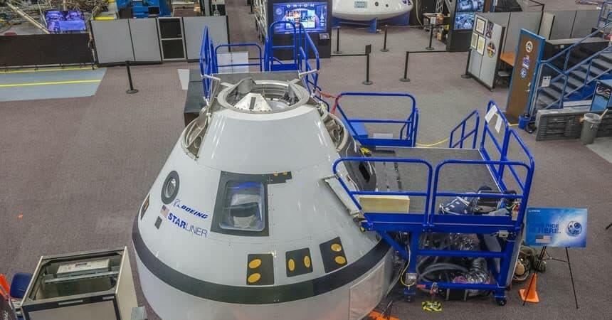 Starliner, espaçonave tripulada sendo desenvolvida pela Boeing