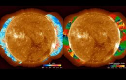 Cientistas medem campo magnético da coroa solar