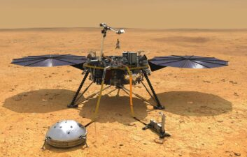 InSight probe detects a subtle slope on Martian soil