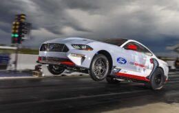 Mustang presume de energía eléctrica