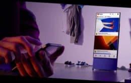 Samsung anuncia TV giratoria 'The Sero' en Brasil por R $ 9.999