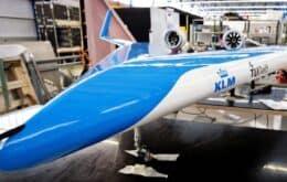 Avião em formato inusitado passa por primeiro teste de voo