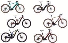 Kona lança e-bikes com bateria de 504 Wh para diversas modalidades