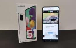 Review do Galaxy A51: celular tira boas fotos, mas performance frustra