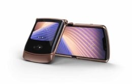 Motorola anuncia Razr 5G nos Estados Unidos por US$ 1.400
