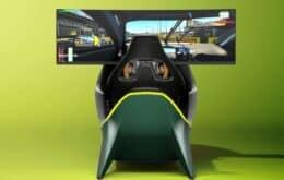 Simulador de luxo da Aston Martin custa R$ 389 mil