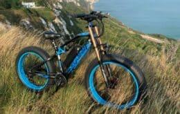 Empresa chinesa lança bicicleta elétrica inspirada em motocicletas