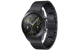 Samsung revela Galaxy Watch 3 Titanium