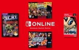 Nintendo anuncia novos títulos do Nintendo Switch Online
