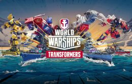 Transformers esquentam os combates navais de 'World of Warships'