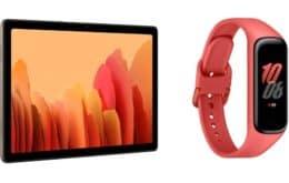 Samsung lança Galaxy Tab A7 e Galaxy Fit2 no Brasil