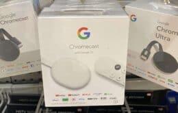 Lojas nos EUA já vendem o novo Chromecast antes do lançamento