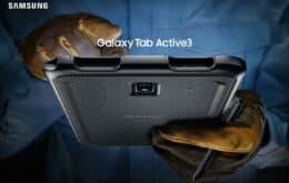 Galaxy Tab Active 3 é o novo tablet da Samsung para trabalho pesado