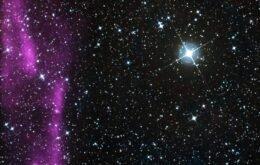 Telescópio Hubble registra estrela explodindo em supernova; assista