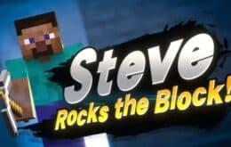 Steve, de Minecraft, será novo lutador do Super Smash Bros. Ultimate