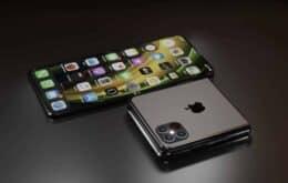 iPhone dobrável pode ter tela que 'se cura' de riscos, mostra patente