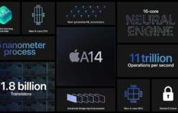 Benchmark do chip A14 Bionic revela salto de até 48% em desempenho