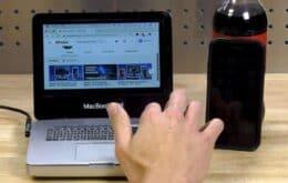 Desenvolvedor cria o menor MacBook Mini do mundo