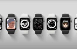 Apple Watch SE e Series 6 têm vendas iniciadas no Brasil por R$ 3.799