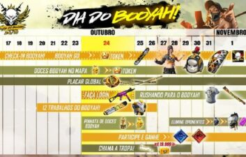 Dia do Booyah!: confira o que esperar do novo evento de Free Fire