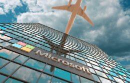 Microsoft investirá em combustível sustentável em voos corporativos