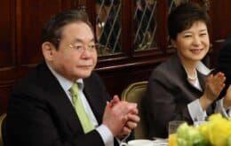 Morre Lee Kun-hee, presidente da Samsung, aos 78 anos