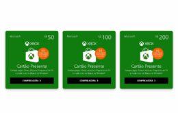 Como adicionar créditos pré-pagos no Xbox usando gift cards