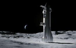SpaceX pode tentar múltiplos pousos na Lua antes de missão para a Nasa