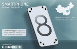 Fornecedora da Apple patenteia smartphone com oito câmeras traseiras