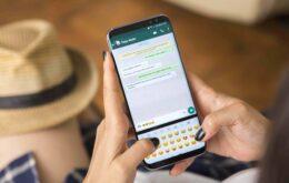 Um botão de compras diretas no WhatsApp