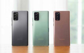 Samsung deixará de fabricar Galaxy Note em 2021, indica rumor