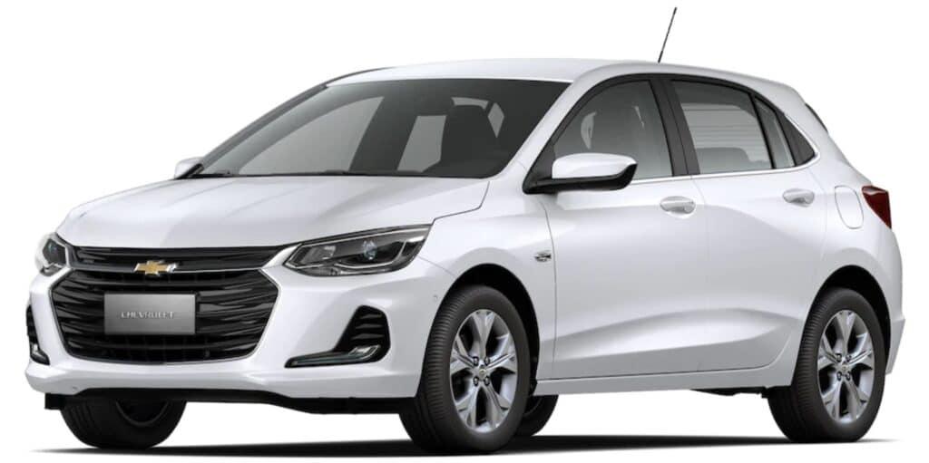 Chevrolet Onix é o carro mais vendido do Brasil pelo sexto ano consecutivo, diz ranking da Renavam.
