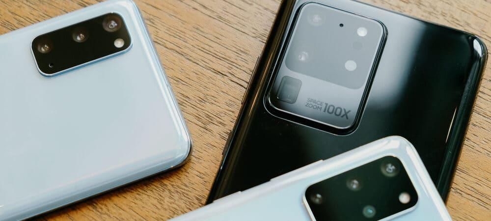 Celulares da Samsung