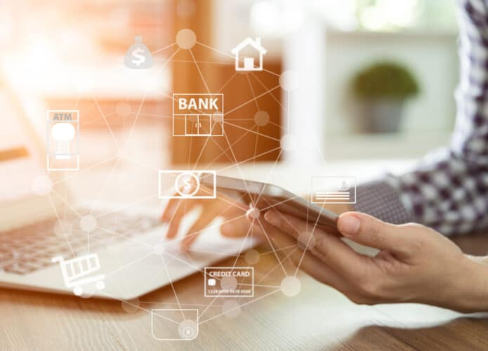 Serviços digitais em bancos online