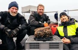 Mergulhadores encontram máquina de criptografia nazista no Báltico