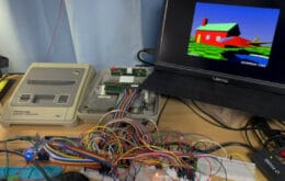 Incrível: desenvolvedor faz SNES renderizar ray-tracing em tempo real
