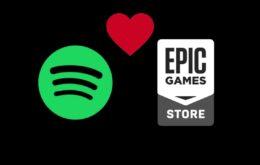 Spotify agora pode ser baixado pela Epic Games Store