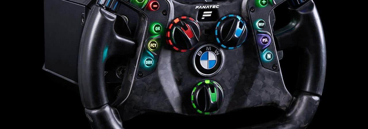 Volate para games da BMW e Fanatec