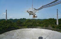 Novo conceito do radiotelescópio de Arecibo sonha em ir além do modelo original