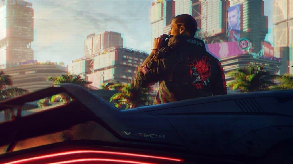 Imagem do jogo 'Cyberpunk 2077', desenvolvido pela empresa CD Projekt Red