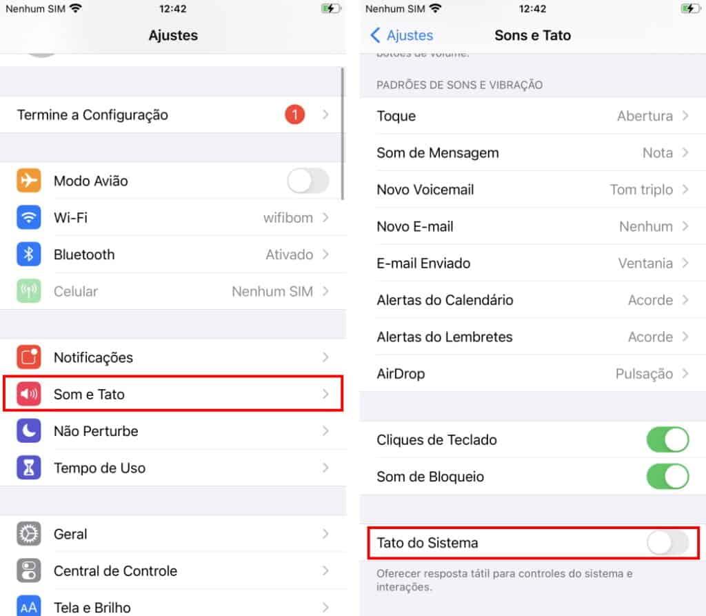 Haga que la batería del iPhone dure más: deshabilite la respuesta táctil