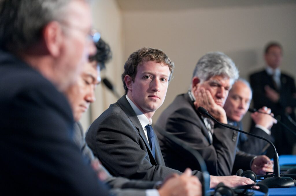 Foto de Mark Zuckerberg
