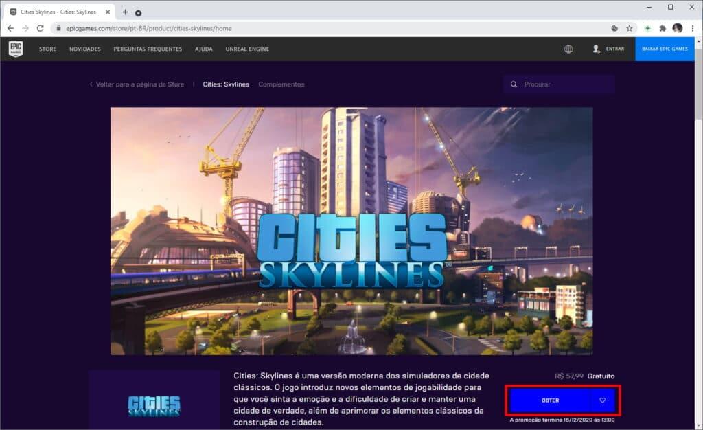 """Como baixar """"Cities: Skyline"""" de graça no PC - Passo 2"""