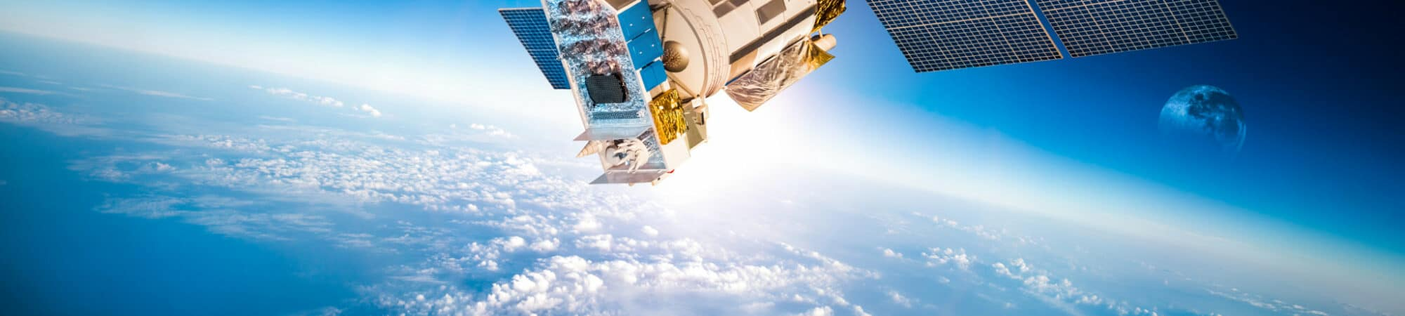 Internet global via satélite está em andamento