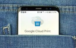 Google vai descontinuar Cloud Print esta semana